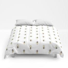 Vintage Bee Pattern Comforters