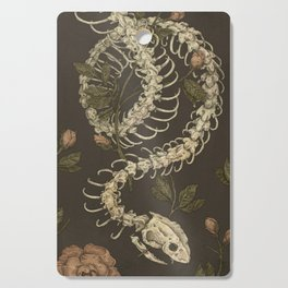 Snake Skeleton Cutting Board