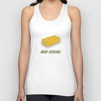 engineer Tank Tops featuring Chief Engineer by not empty