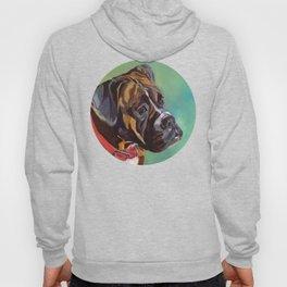 Boxer Dog Keeley Pet Portrait Hoody