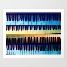 piano2 Art Print