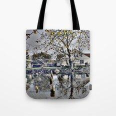 Reflex landscape Tote Bag
