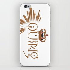 Enby royalty - Quing iPhone & iPod Skin