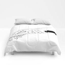 Bon Appetit Comforters