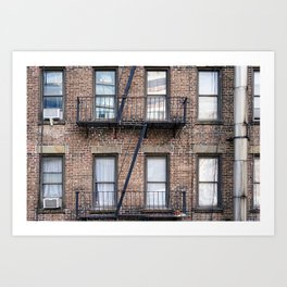 New York Fire Escape Kunstdrucke