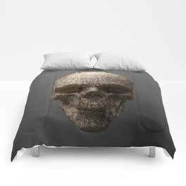 Golden Skull Triangles 1 Comforters