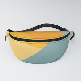 Abstract Mountain Sunrise Fanny Pack