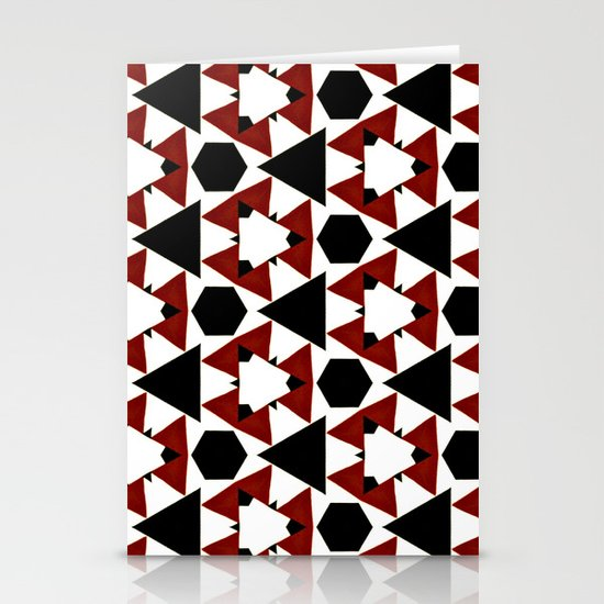 Van Steensel Pattern Stationery Cards