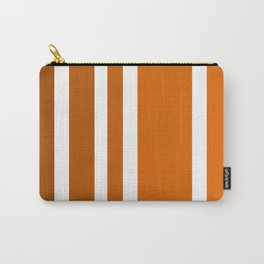 Striped Ombre in Orange Carry-All Pouch