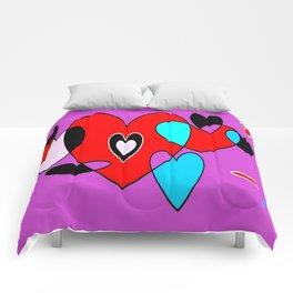 Corazones 33 Comforters