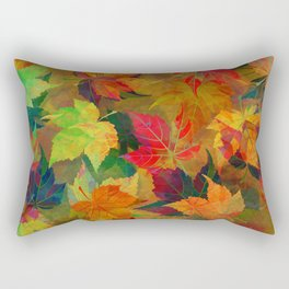 Colors of Autumn Rectangular Pillow