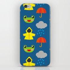 rainy days (Children's pattern) iPhone & iPod Skin