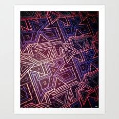 arcade (variant) Art Print