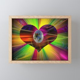 Flowermagic - Gift idea Framed Mini Art Print