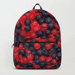 Gummy Raspberries and Blackberries Real Candy Pattern Backpack
