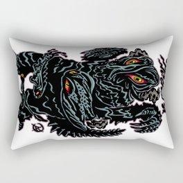 Hedorah Kaiju Print FC Rectangular Pillow