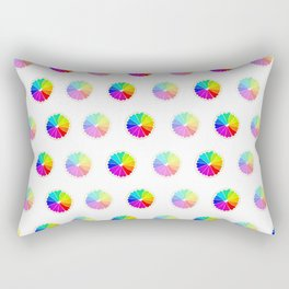 Rainbow Love Rectangular Pillow