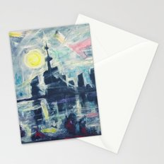 Magical City Evening Stationery Cards