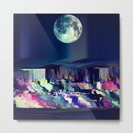 Moon High  Metal Print