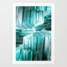 CRSTL-COLLAGE Art Print