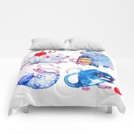 Sweet Rats Comforters