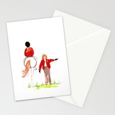 Sketches of a favorite equestrian Stationery Cards