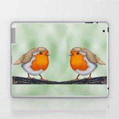 Knitted Robin Laptop & iPad Skin