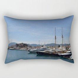 Marmaris Yachting Marina - Netsel Rectangular Pillow