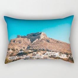 The castle of Leros Rectangular Pillow