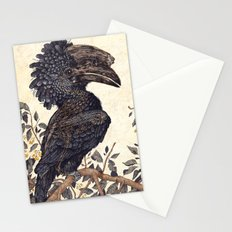 Silvery Cheeked Hornbill Stationery Cards