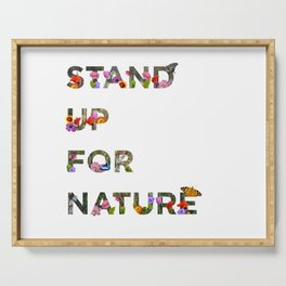 Stand Up For Nature Serving Tray