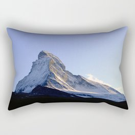 Cut the sky open Rectangular Pillow