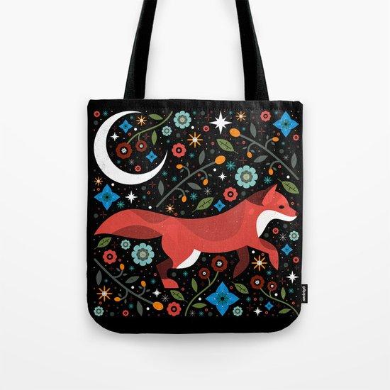 Flame Fox Tote Bag