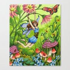 Meadow Fairy Canvas Print
