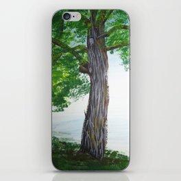 Painted Tree iPhone Skin