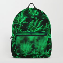 Fluorescent coral polyps reaching toward infinity Backpack