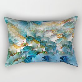 Leafing through Rectangular Pillow