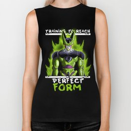 Training to reach pefect form - Cell Biker Tank