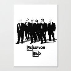 Reservoir Bad Canvas Print