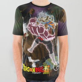 Goku vs Jiren All Over Graphic Tee