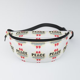 PEACE! Fanny Pack