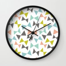 Spring bows Wall Clock
