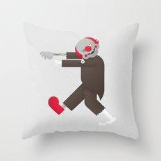 Zombie / Clown Throw Pillow