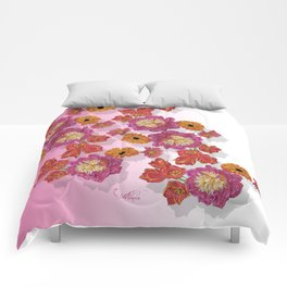 Peony Festivity Comforters