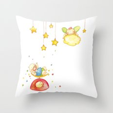 Baby weight Throw Pillow
