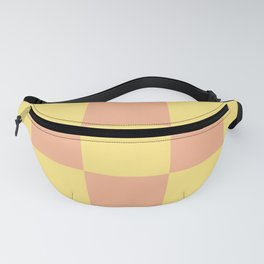 geometric retro chess pattern Loogaroo Fanny Pack