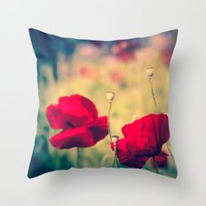 Keokea Poppy Dreams Throw Pillow