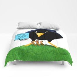 Blackbird with a Chorus Comforters