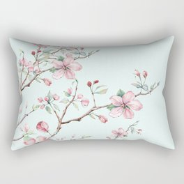 Apple Blossom #society6 #buyart Rectangular Pillow