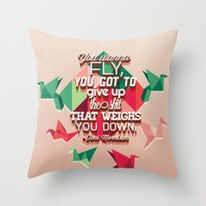 toni morrison  Throw Pillow